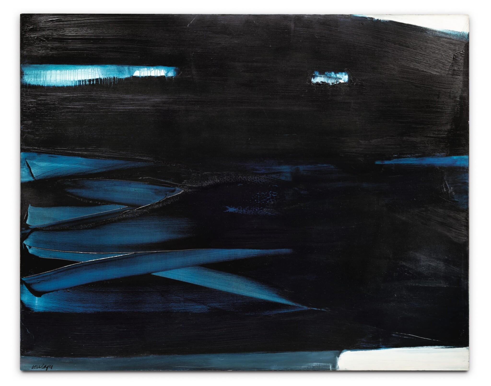 View full screen - View 1 of Lot 5. Peinture 130 x 162 cm, 16 novembre 1965.
