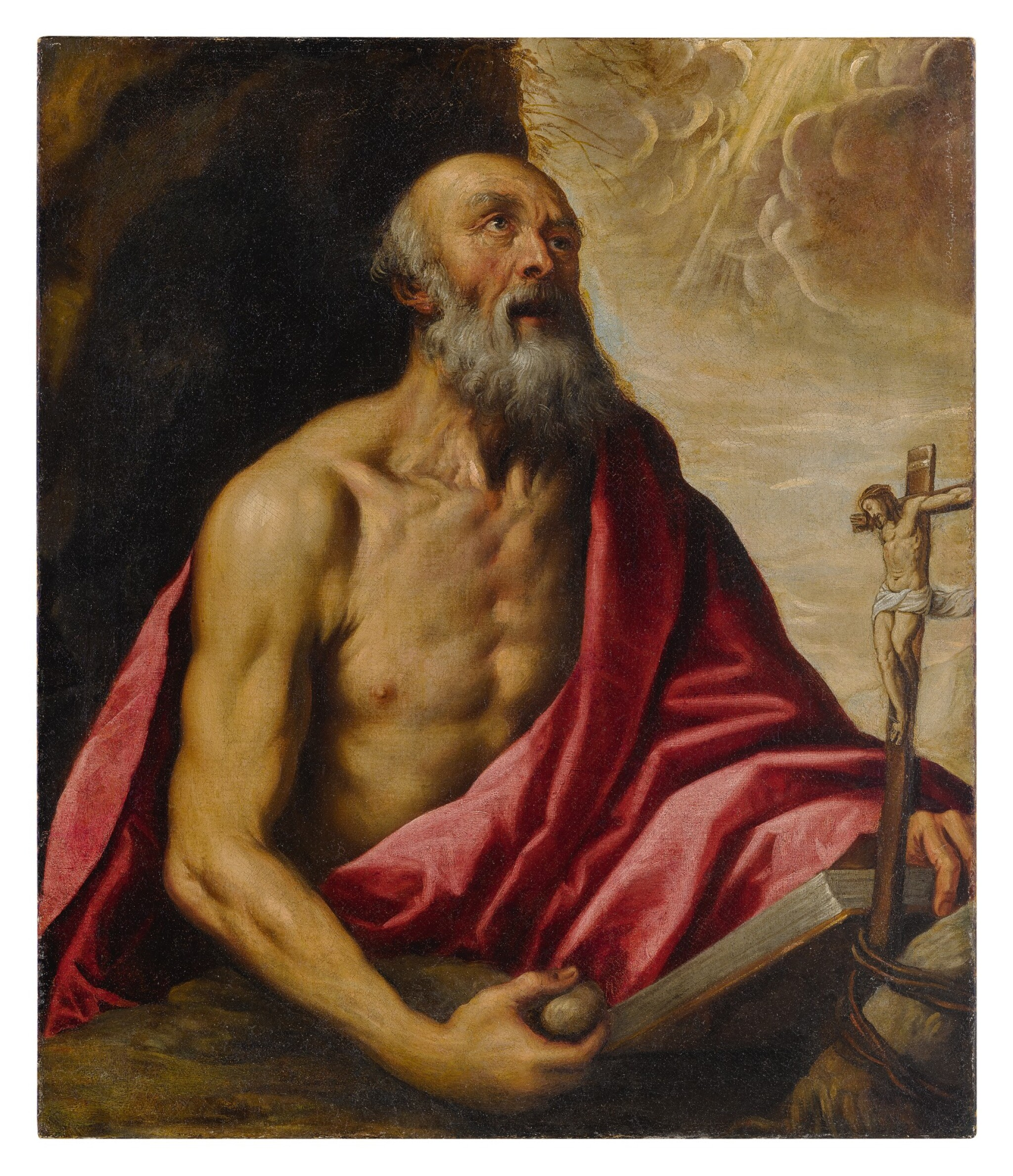 ATTRIBUTED TO JACOPO PALMA, CALLED PALMA GIOVANE | SAINT JEROME