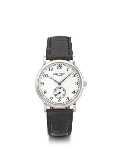 View 1 of Lot 22. PATEK PHILIPPE | REF 5022G, A WHITE GOLD WRISTWATCH MADE IN 2000.