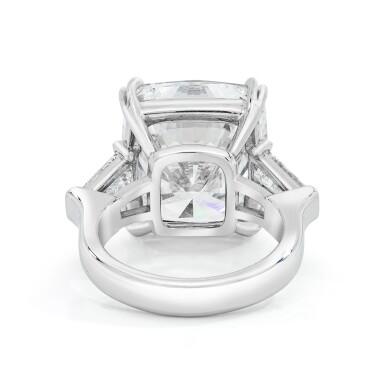 View 3. Thumbnail of Lot 17. Diamond Ring.