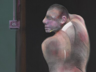 View 3. Thumbnail of Lot 44. FRANCIS BACON | STUDY FOR PORTRAIT OF JOHN EDWARDS.