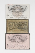 1898 Trans-Mississippi Exposition Passes and Postal Cards
