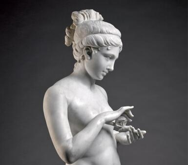 AFTER ANTONIO CANOVA (1757-1822) PROBABLY BELGIAN, FIRST HALF 20TH CENTURY | PSYCHE