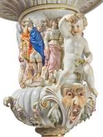 A RARE MONUMENTAL MEISSEN 'PSYCHE' VASE, LATE 19TH CENTURY