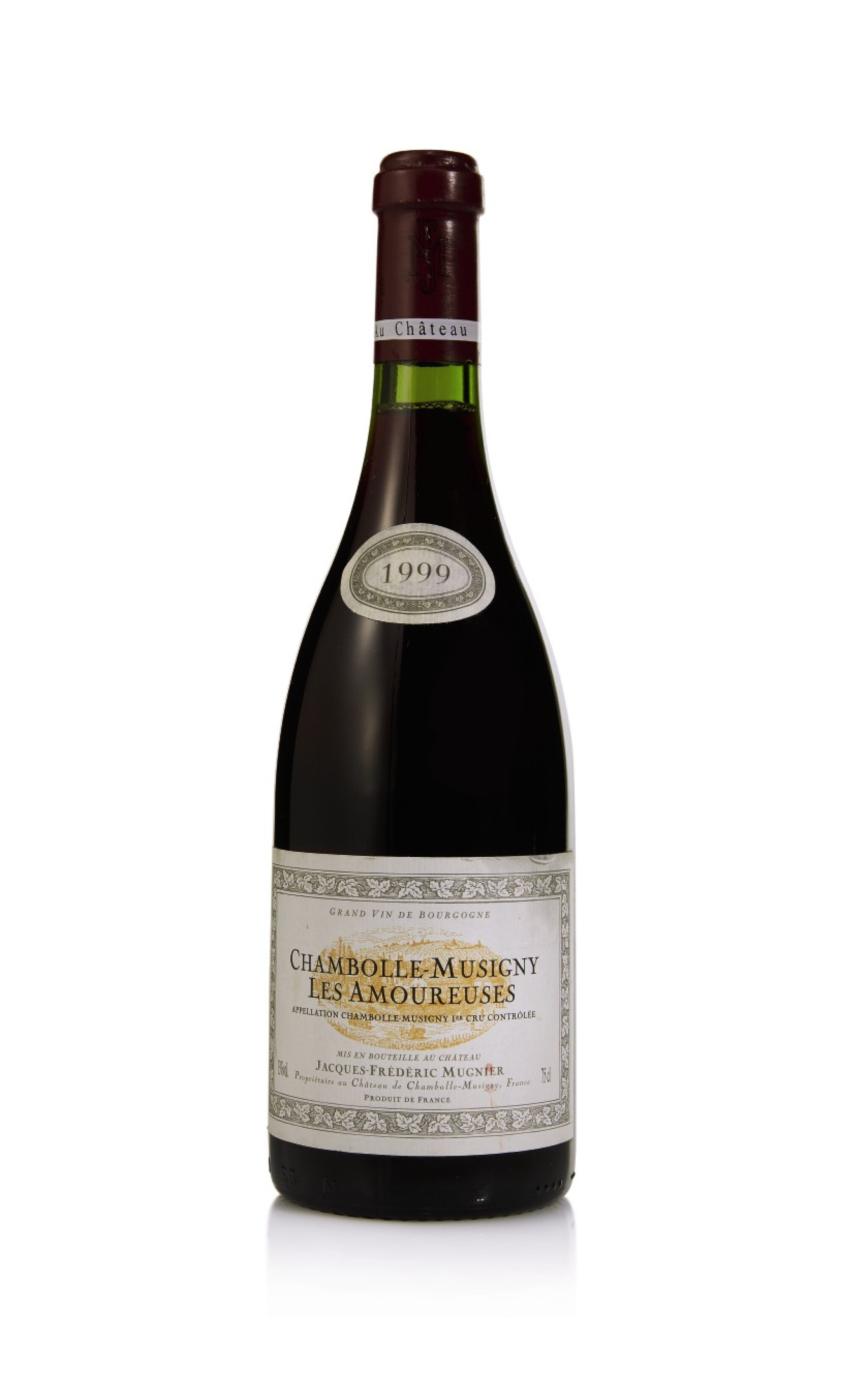 View full screen - View 1 of Lot 79.  Chambolle Musigny, Les Amoureuses 1999 Jacques-Frédéric Mugnier (1 BT).