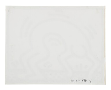 View 2. Thumbnail of Lot 208. Untitled (Pop Shop Drawing).
