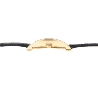 View 5. Thumbnail of Lot 317. PAGODA, REF 5500 YELLOW GOLD WRISTWATCH MADE TO COMMEMORATE THE OPENING OF THE NEW WATCHMAKING CENTER OF PATEK PHILIPPE IN GENEVA CIRCA 1997.