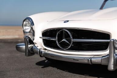 View 6. Thumbnail of Lot 65. 1960 Mercedes-Benz 300SL Roadster.