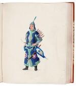 China, Canton School | A superb album of 141 watercolours, c.1800