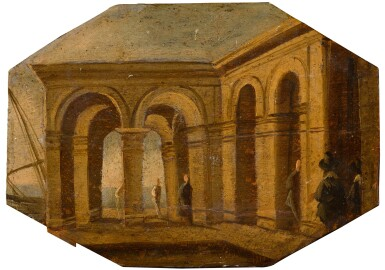 View 5. Thumbnail of Lot 163. A set of architectural vedute.