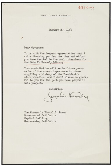 View 3. Thumbnail of Lot 2188. Kennedy, John F. An archive of material pertaining to the assassination of President Kennedy.