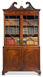 A GEORGE III MAHOGANY BOOKCASE, THIRD QUARTER 18TH CENTURY