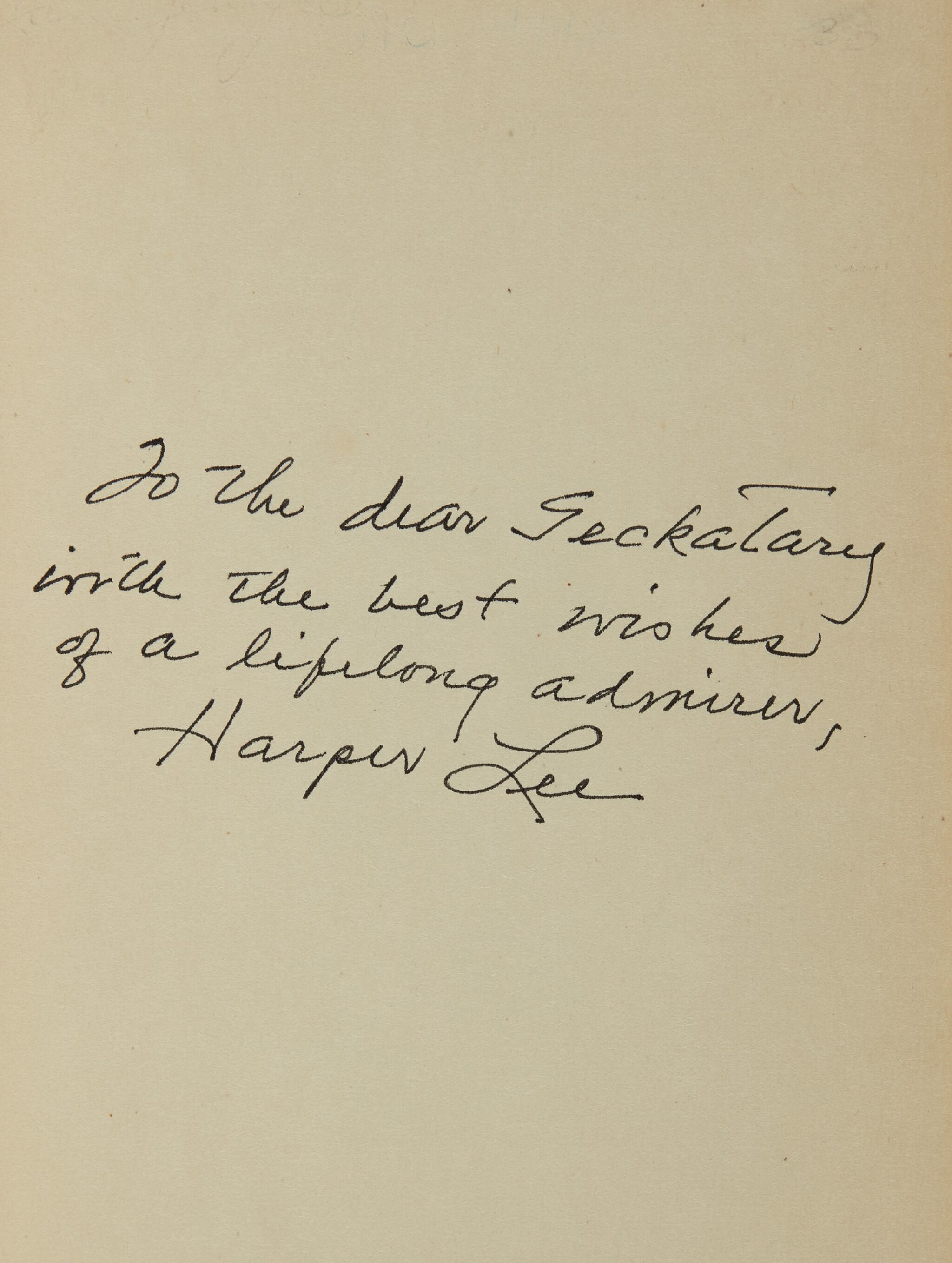 """View full screen - View 1 of Lot 146. LEE, HARPER 