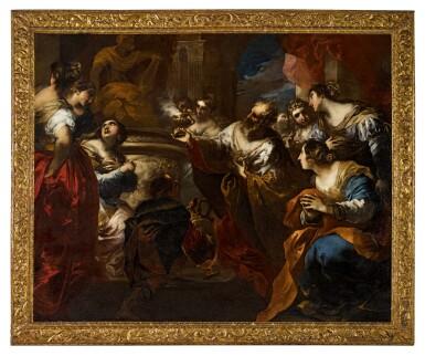 View 2. Thumbnail of Lot 57. The Idolatry of Solomon.