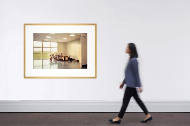 View 4. Thumbnail of Lot 78. LEWIS BALTZ   'UNOCCUPIED OFFICE', MITSUBISHI, VITRE, FRANCE, 1989-1991.