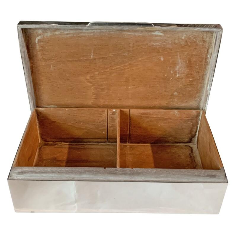 Mid-Century Modern Hinged Trinket Box