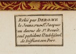 La Fontaine, Fables choisies, Paris, 1755-1759, 4 volumes in red morocco