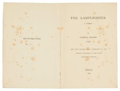 Dickens, The Lamplighter, 1879, no. 54 of 250 copies