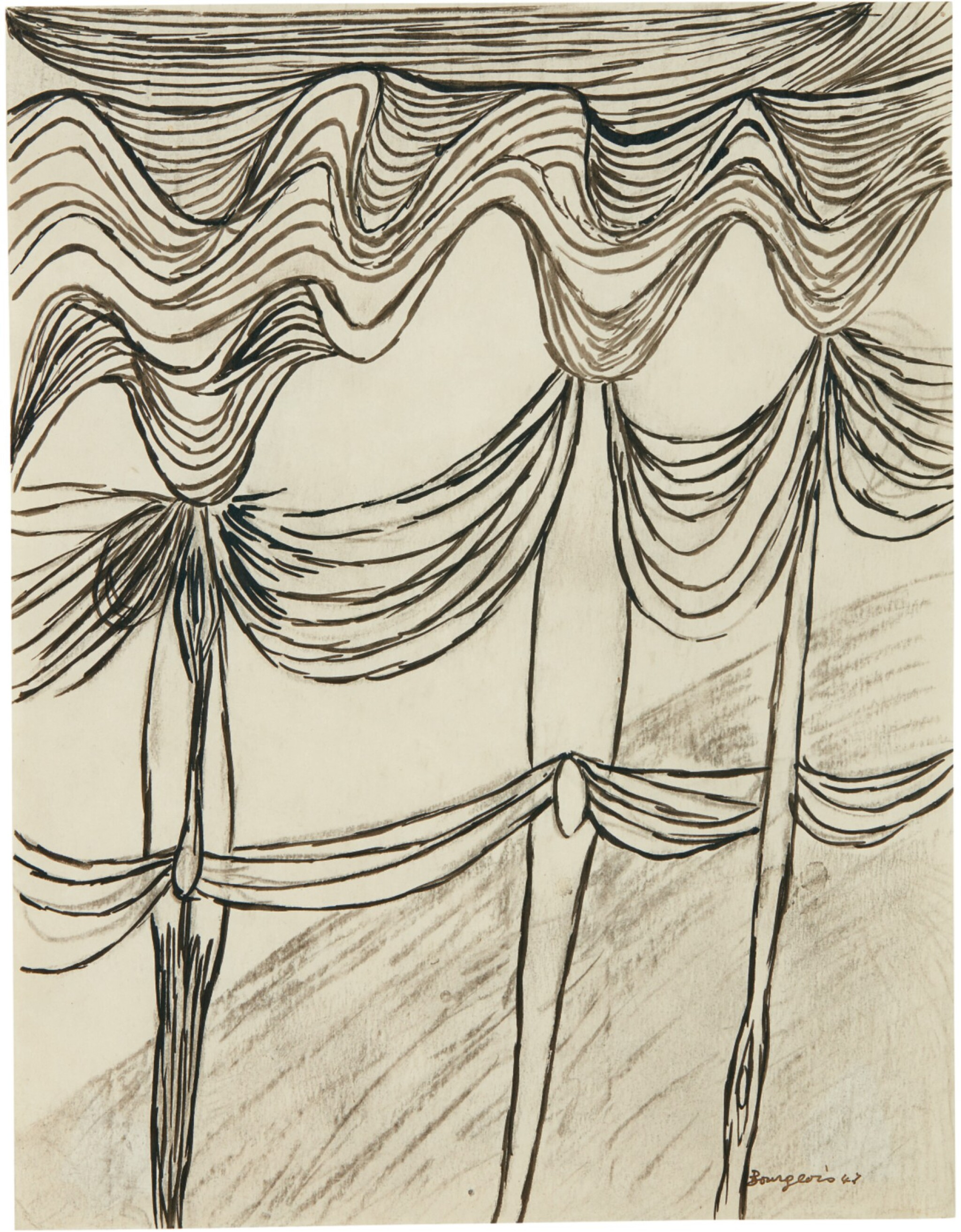 View full screen - View 1 of Lot 257. LOUISE BOURGEOIS | UNTITLED.
