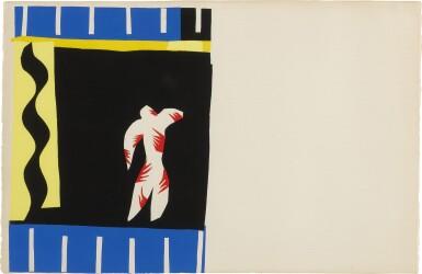View 3. Thumbnail of Lot 110. Jazz (Duthuit Books 22 bis).