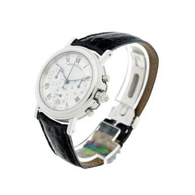 View 2. Thumbnail of Lot 13. REFERENCE 3315N MARINE A PLATINUM AUTOMATIC CHRONOGRAPH WRISTWATCH WITH DATE, CIRCA 2000.