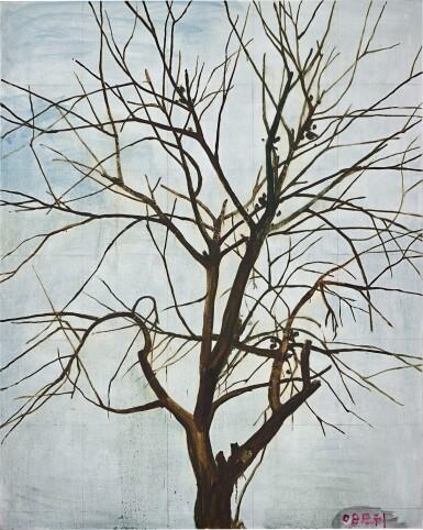View 1. Thumbnail of Lot 30. Zhang Enli 張恩利 | Tree in Winter 1 冬天的樹 1.