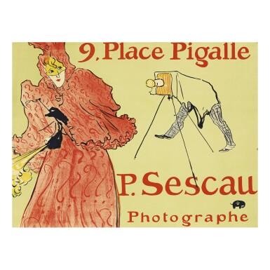 HENRI DE TOULOUSE-LAUTREC   LE PHOTOGRAPHE SESCAU (D. 353; ADR. 60; W. P22)