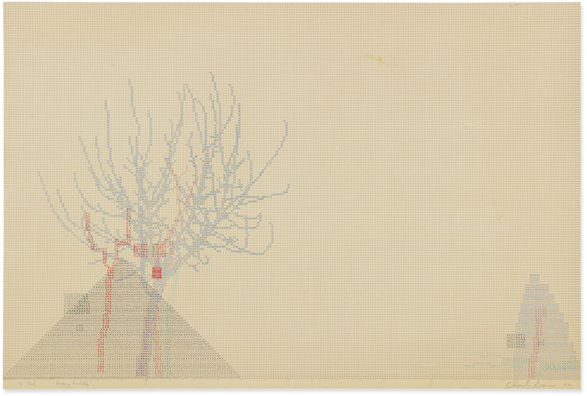 View full screen - View 1 of Lot 231. CHARLES GAINES | UNTITLED .