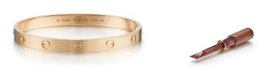 GOLD BANGLE, 'LOVE', CARTIER | K金手鐲, 'Love', 卡地亞(Cartier)