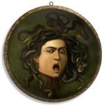 AFTER MICHELANGELO MERISI, CALLED CARAVAGGIO, 19TH CENTURY | MEDUSA
