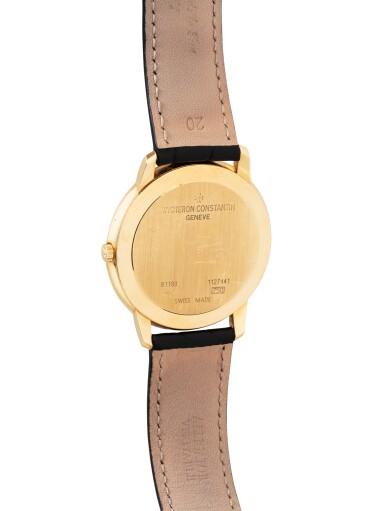 View 3. Thumbnail of Lot 10. Patrimony, Ref. 81180/000J    Montre bracelet en or jaune    Yellow gold wristwatch    Vers 2009    Circa 2009.