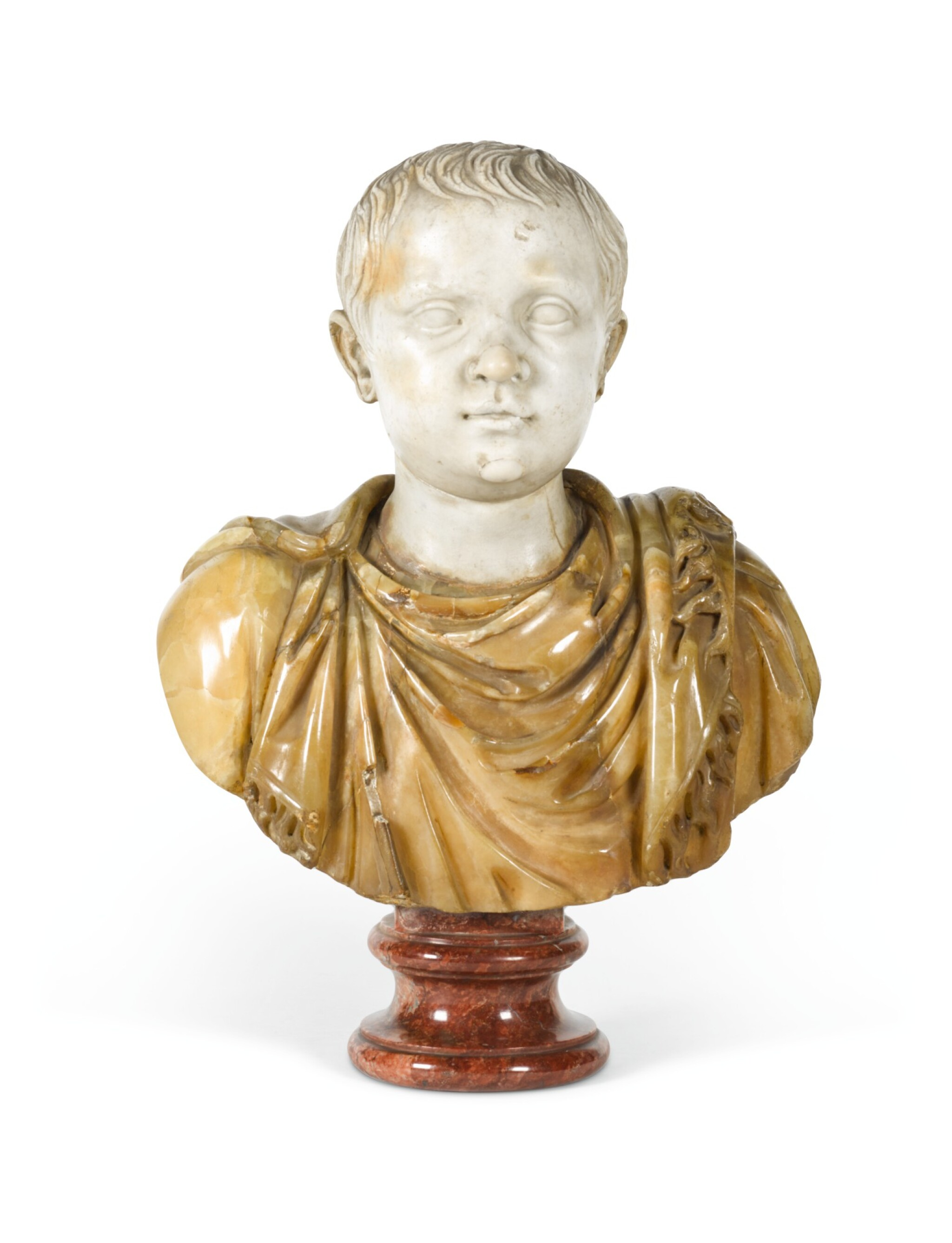 ITALIAN, 18TH CENTURY | Bust of a Young Boy