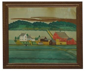 View 2. Thumbnail of Lot 1403. PAUL A. SEIFERT | FARM LANDSCAPE   .