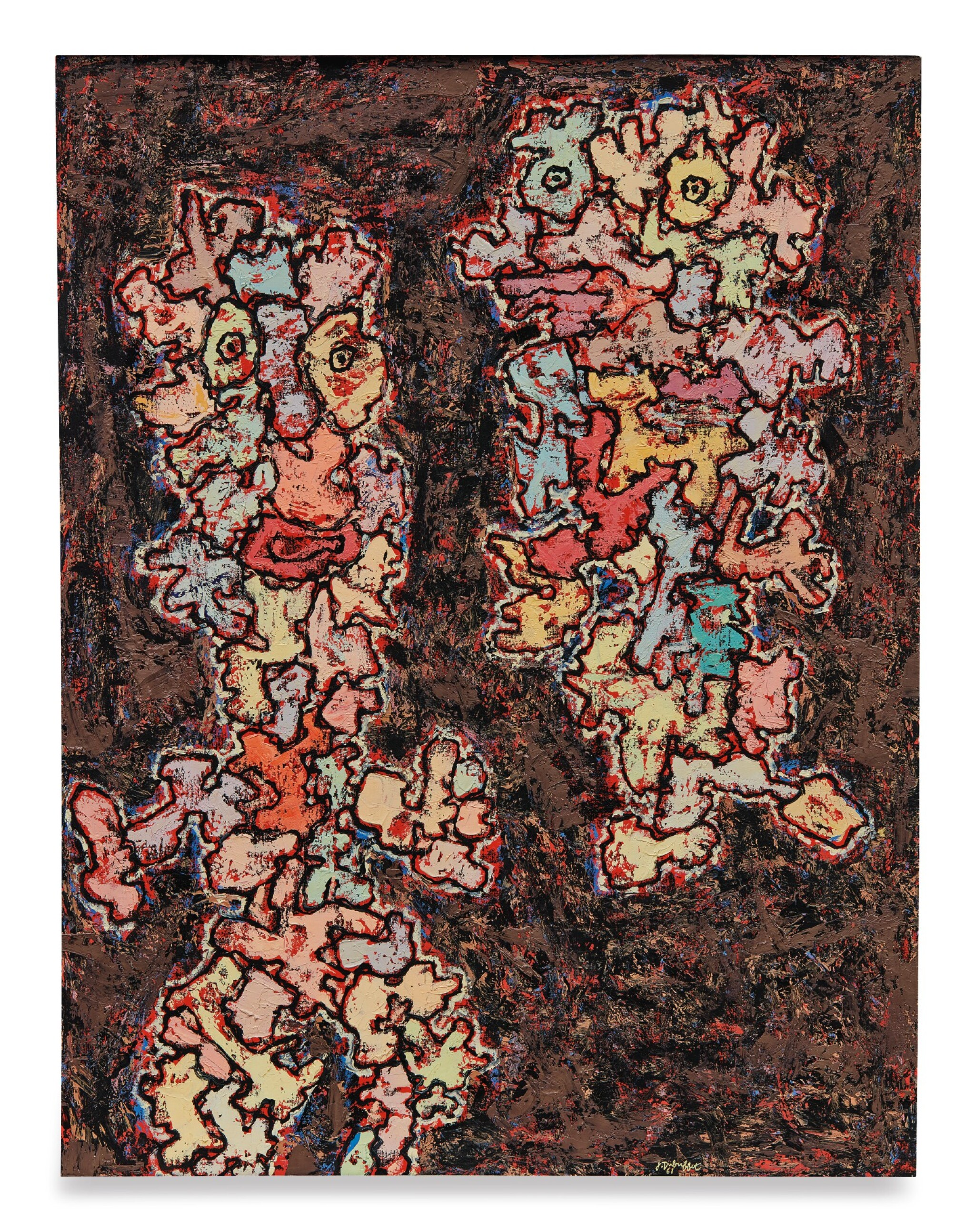 View full screen - View 1 of Lot 32. JEAN DUBUFFET | LE MESSAGER.