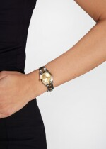 ROLEX   OYSTER PERPETUAL, REFERENCE 76183, STAINLESS STEEL AND YELLOW GOLD WRISTWATCH WITH BRACELET, CIRCA 2002