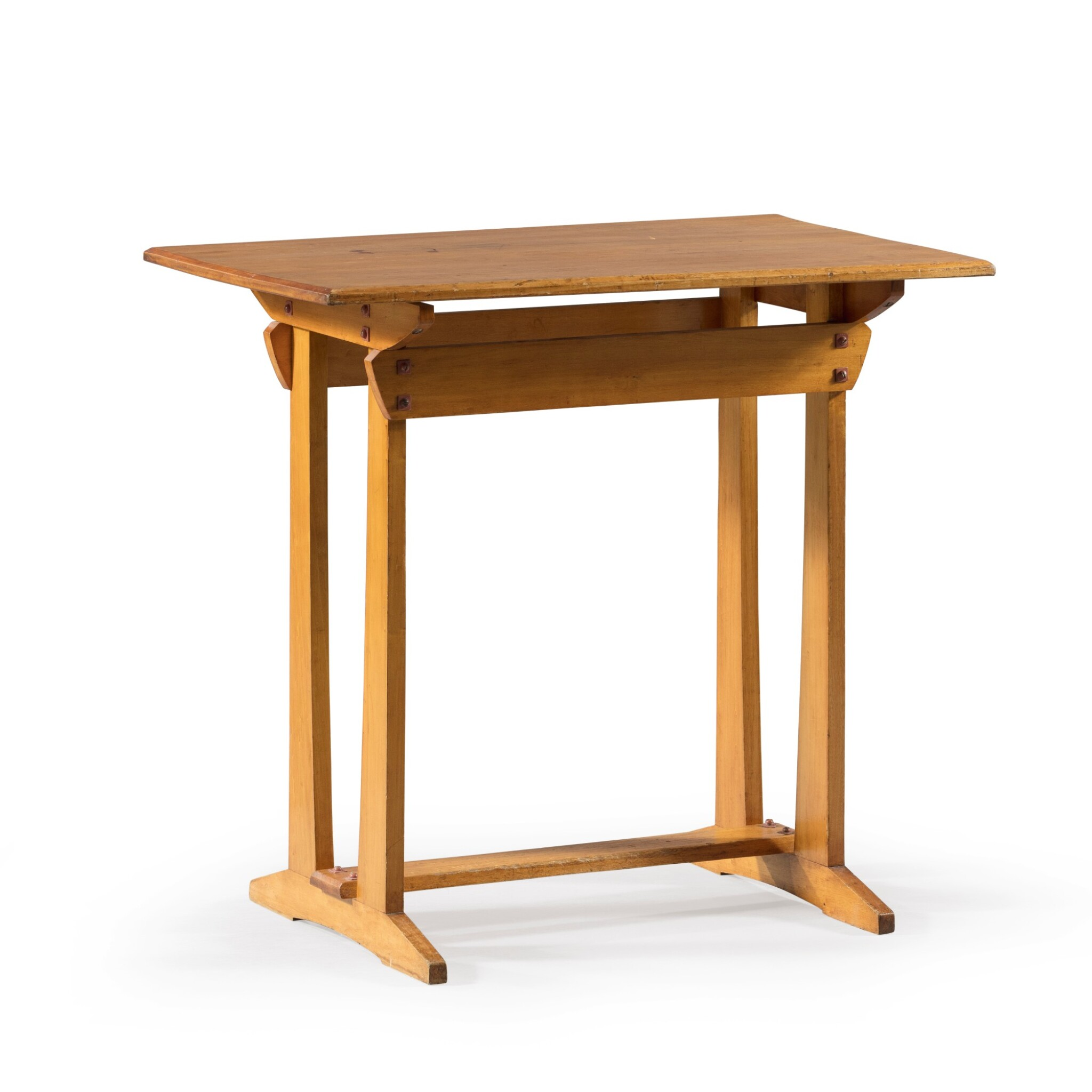 View full screen - View 1 of Lot 20. GUSTAVE SERRURIER-BOVY | SILEX TABLE, CIRCA 1904 [TABLE D'APPOINT SILEX, VERS 1904].