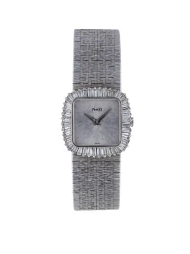 PIAGET | REF 9246A6 WHITE GOLD AND DIAMOND-SET BRACELET WATCH  CIRCA 1975