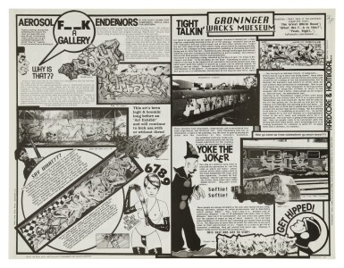 View 4. Thumbnail of Lot 8. [DAVID SCHMIDLAPP & PHASE 2] | COMPLETE RUN OF THE IG TIMES, 1984-1996..