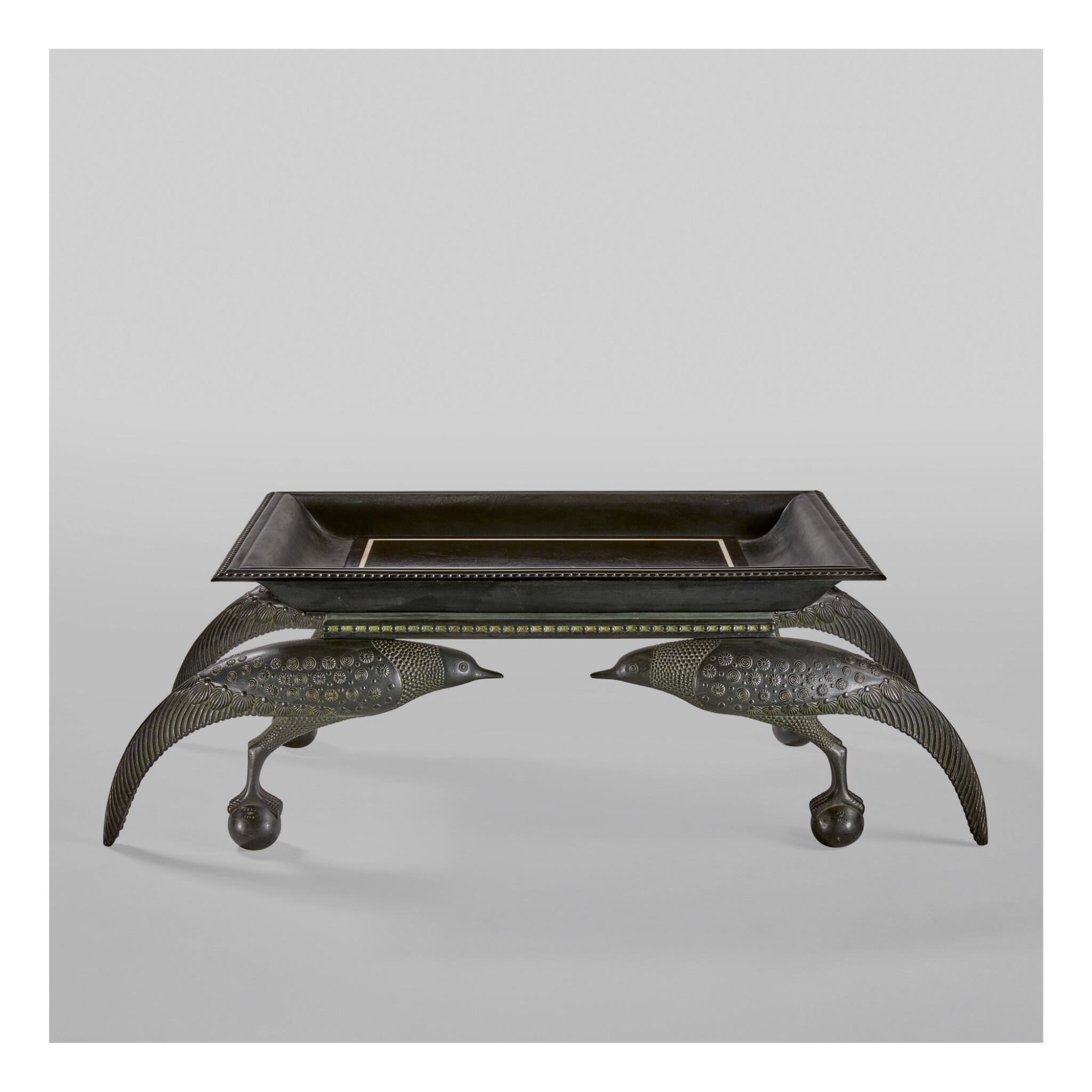 """View 1 of Lot 8. An Important and Rare """"Oiseaux"""" Low Table."""