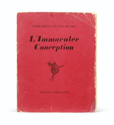 View 2. Thumbnail of Lot 219.  L'Immaculée conception. Paris,1930. Ex de René Crevel, broché, chemise et étui.