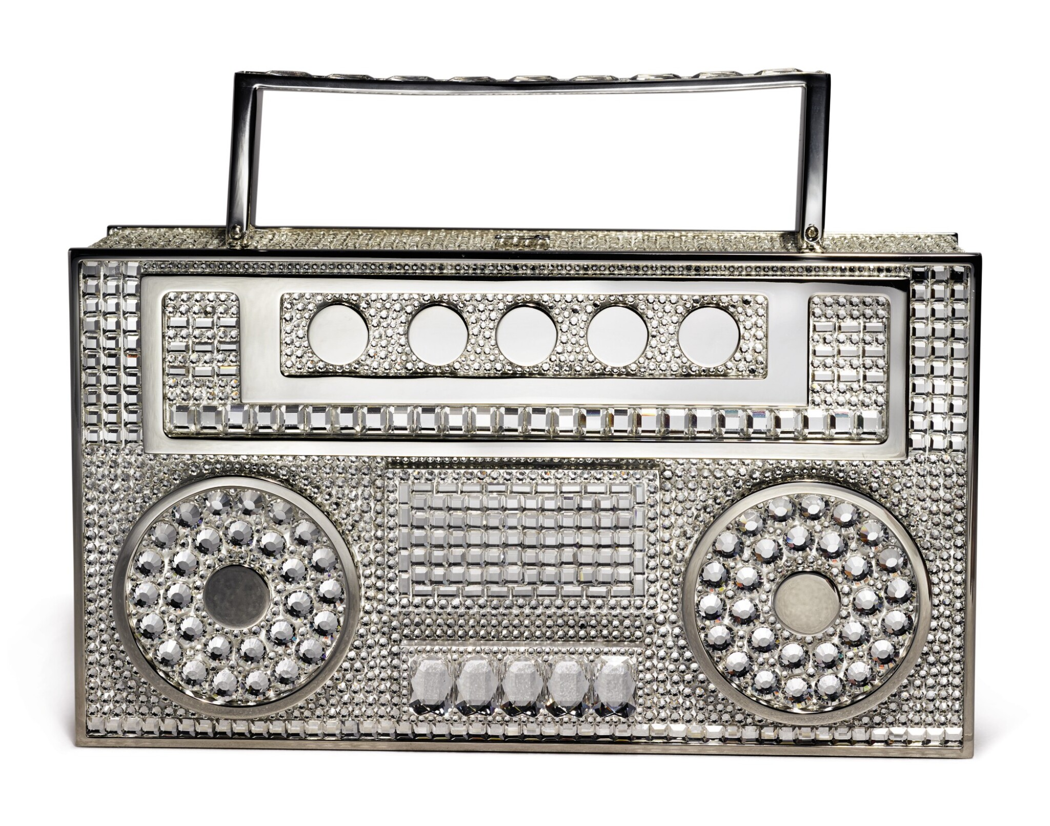View full screen - View 1 of Lot 33. JUDITH LEIBER COUTURE | DISCO BOOMBOX, 2020..