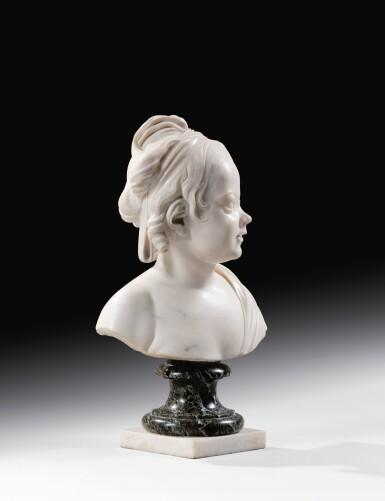 View 4. Thumbnail of Lot 63. Portrait of Constance-Félicité-Victoire-Désirée Vassé, daughter of the artist.