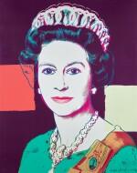 ANDY WARHOL   QUEEN ELIZABETH II OF THE UNITED KINGDOM (F. & S. II.335A)