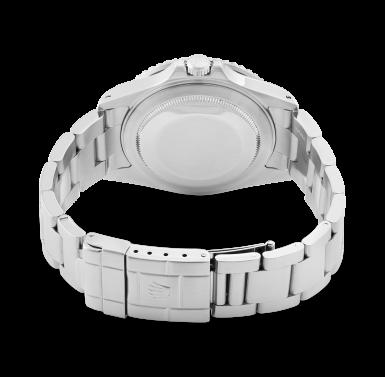 View 3. Thumbnail of Lot 103. GMT-Master II, Ref. 16710     Montre bracelet en acier avec deux fuseaux horaires et date    Stainless steel dual time zone wristwatch with date and bracelet     Vers 1999    Circa 1999.
