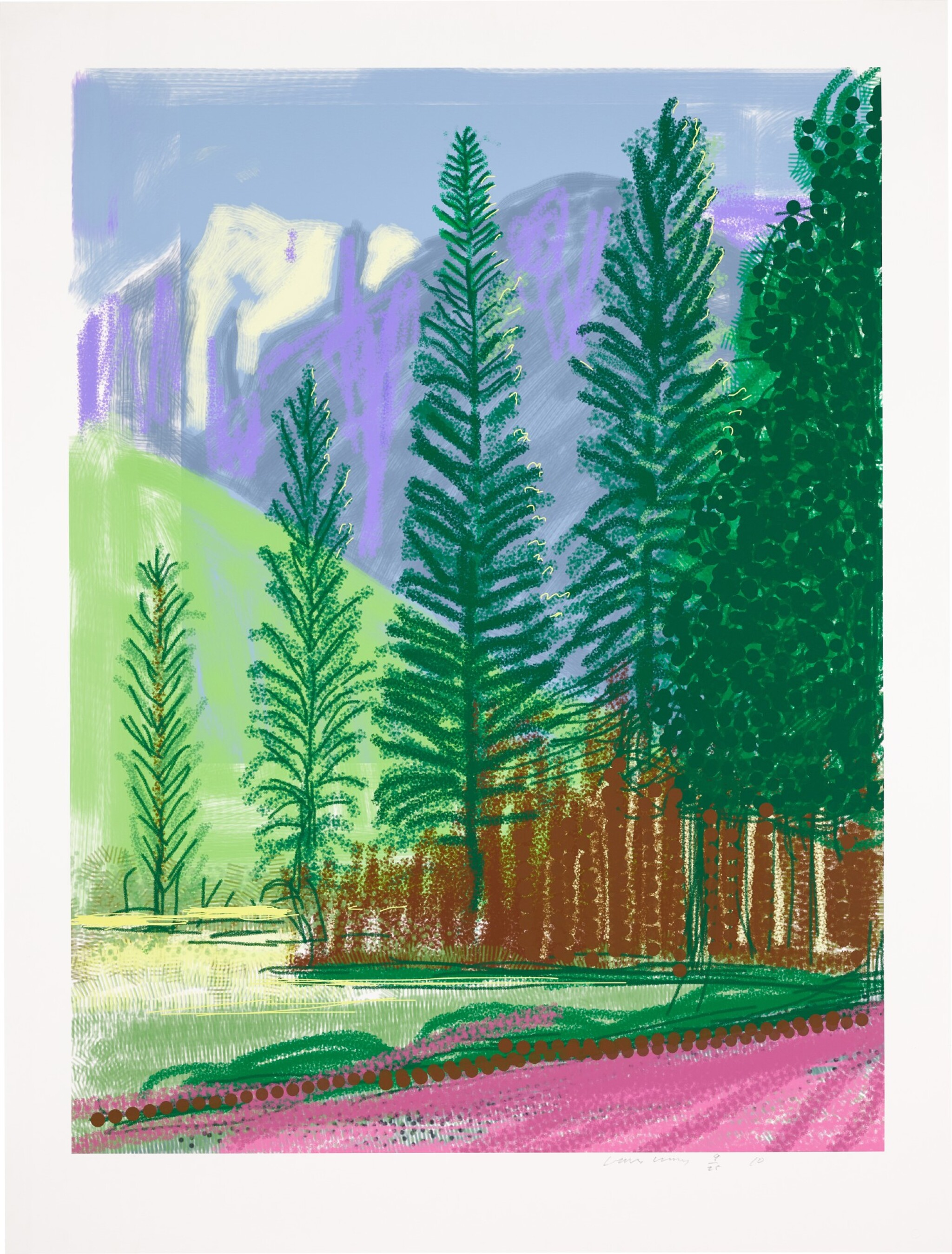 View full screen - View 1 of Lot 28. DAVID HOCKNEY R.A.   UNTITLED NO. 12.
