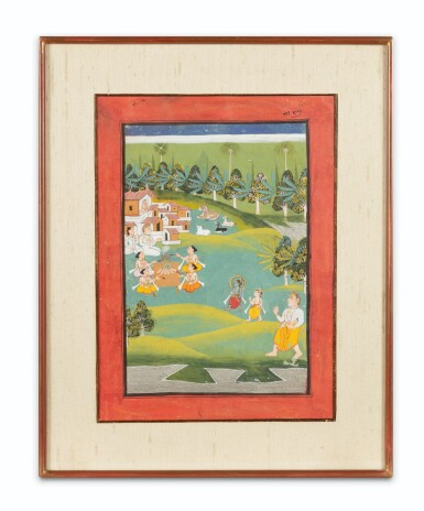 View 2. Thumbnail of Lot 39. RAJASTHAN AND NORTHERN INDIA, LATE 18TH CENTURY - EARLY 19TH CENTURY | SIX INDIAN MINIATURES .