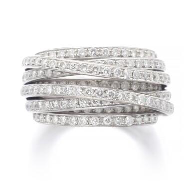 View 1. Thumbnail of Lot 1090. Diamond ring, 'Allegra'.