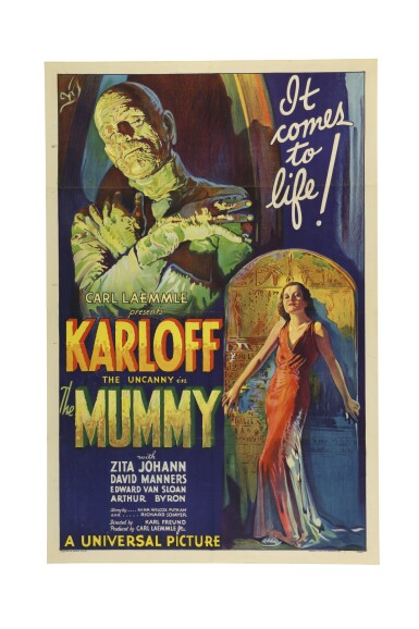 View 1. Thumbnail of Lot 1. The Mummy.