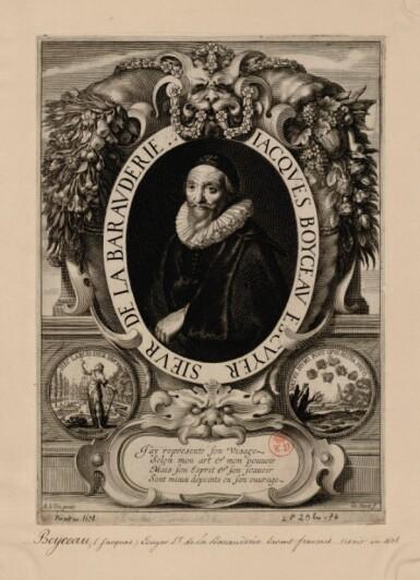 View 5. Thumbnail of Lot 26. Portrait of Jacques Boyceau (1560-1633).
