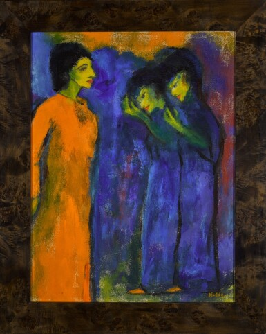 View 2. Thumbnail of Lot 38.  EMIL NOLDE | HULDIGUNG (HOMAGE).